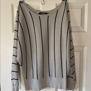 Express off the shoulder sweater